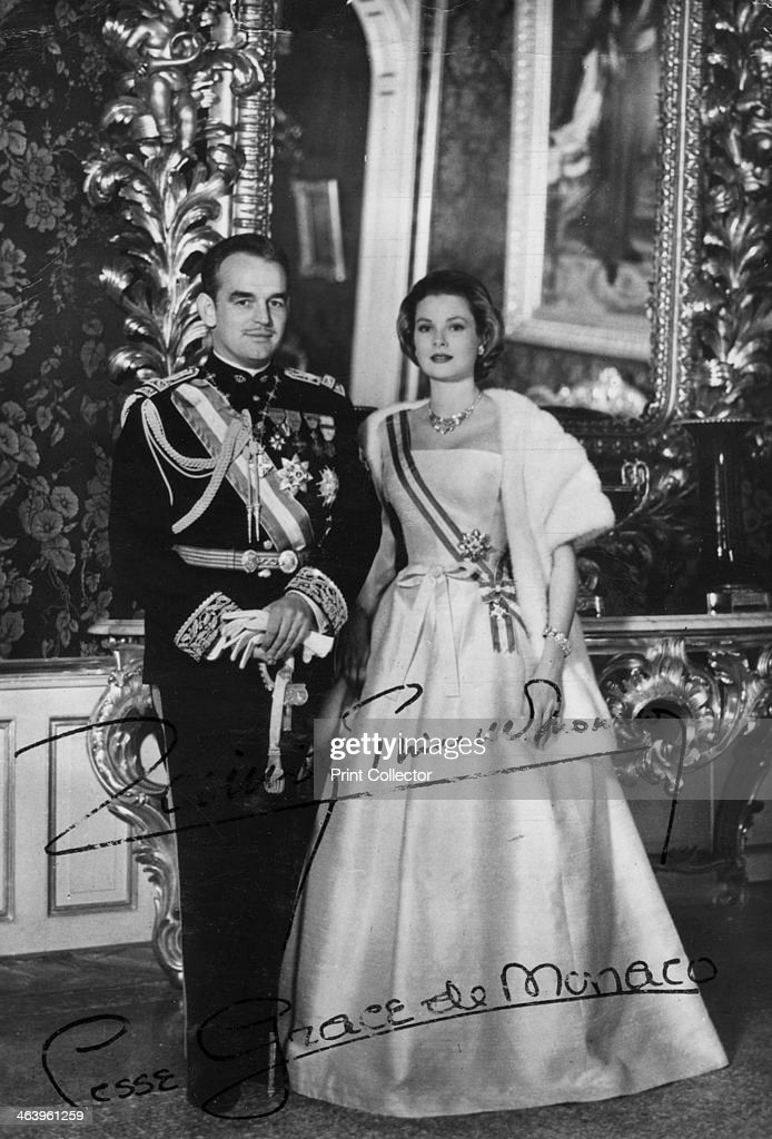 Prince Rainier III and Princess Grace of Monaco, 20th century. : News Photo