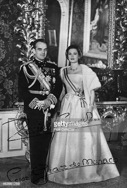 Prince Rainier III and Princess Grace of Monaco 20th century American actress Grace Kelly married Prince Rainier of Monaco in 1956 and became Grace...