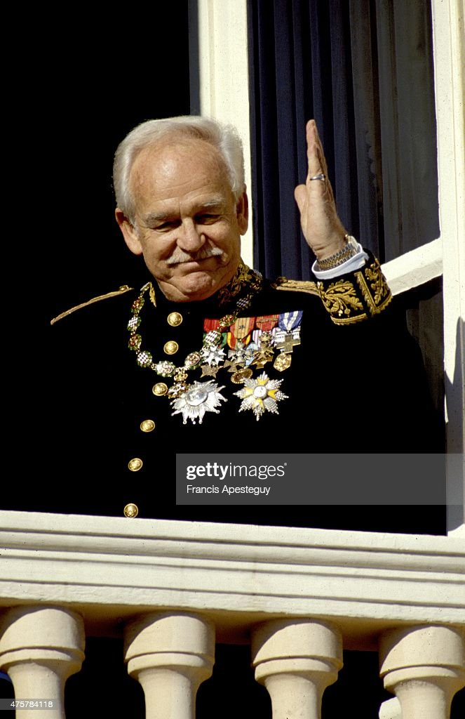 Rainier,Prince of Monaco : News Photo