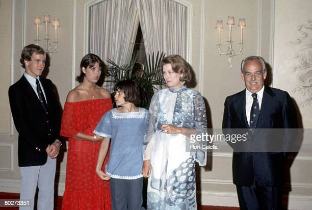 Prince Ranier Prince Albert Princess Grace Princess Caroline Stephanie of Monaco