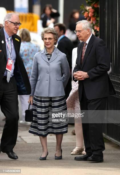 Prince Richard, Duke of Gloucester and Birgitte, Duchess of Gloucester at the RHS Chelsea Flower Show 2019 press day at Chelsea Flower Show on May...