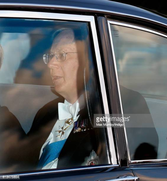 Prince Richard Duke of Gloucester attends a State Banquet at Buckingham Palace on day 1 of the Spanish State Visit on July 12 2017 in London England...