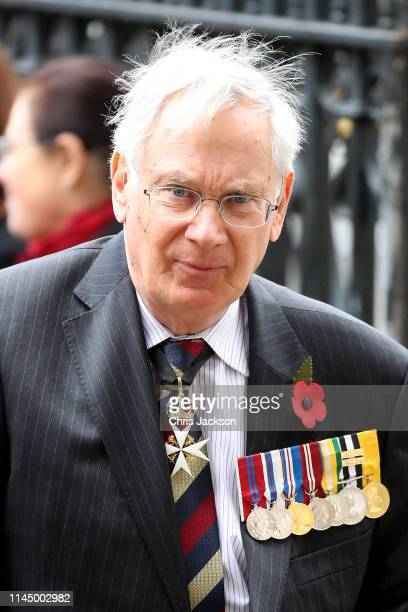 Prince Richard, Duke of Gloucester attends the ANZAC Day Service of Commemoration and Thanksgiving at Westminster Abbey on April 25, 2019 in London,...