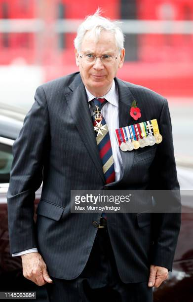 Prince Richard Duke of Gloucester attends the ANZAC Day Service of Commemoration and Thanksgiving at Westminster Abbey on April 25 2019 in London...