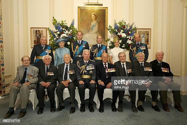 Prince Richard, Duke of Gloucester, Princess Alexandria, Prince William, Duke of Cambridge, Prince Edward, Earl of Wessex, Sophie, Countess of...