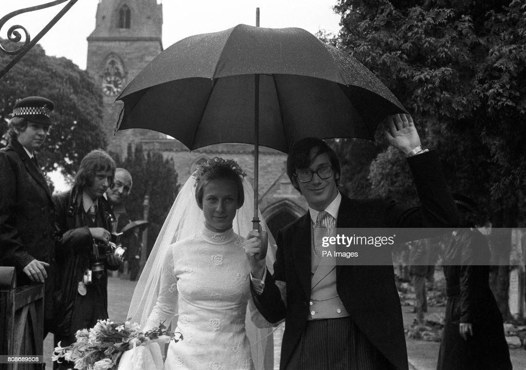 Royalty - Prince Richard of Gloucester and Birgitte van Deurs Wedding - Barnwell : News Photo
