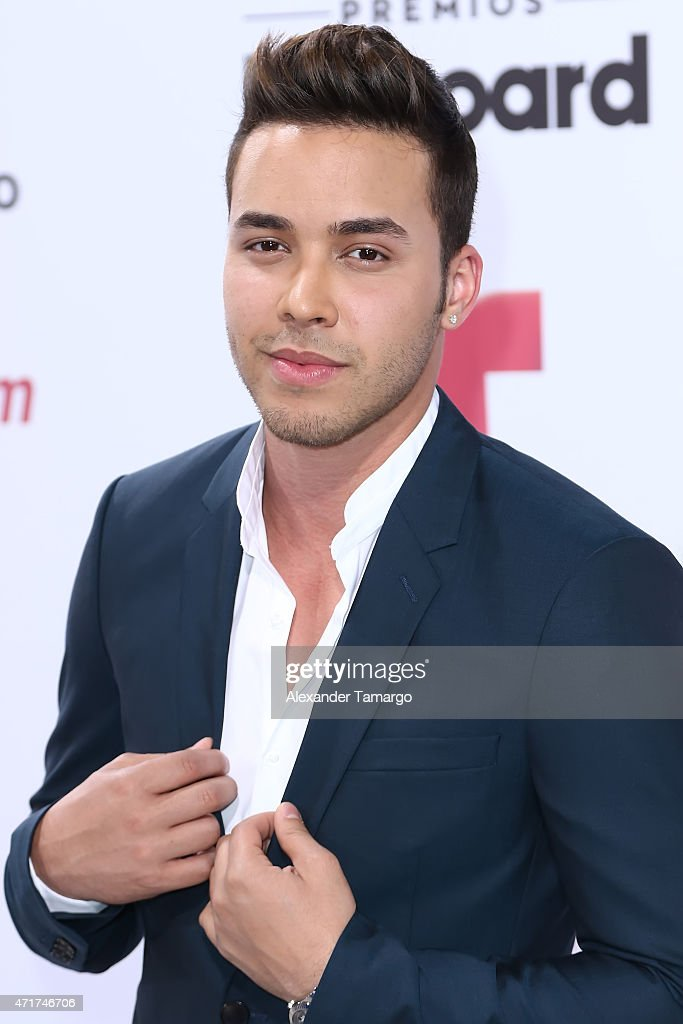 Prince Royce arrives at 2015 Billboard Latin Music Awards presented by State Farm on Telemundo at Bank United Center on April 30, 2015 in Miami, Florida.