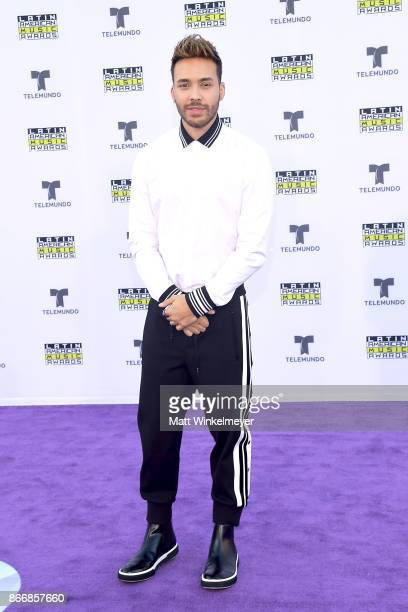 Prince Royce attends 2017 Latin American Music Awards at Dolby Theatre on October 26 2017 in Hollywood California
