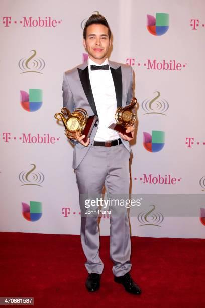 Prince Royce attends Premio Lo Nuestro a la Musica Latina 2014 at American Airlines Arena on February 20 2014 in Miami Florida
