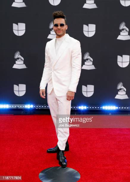 Prince Royce attends the 20th annual Latin GRAMMY Awards at MGM Grand Garden Arena on November 14 2019 in Las Vegas Nevada