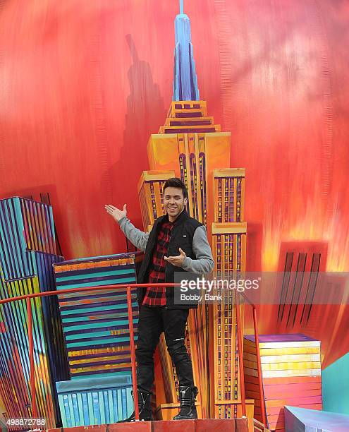 Prince Royce attends the 89th Annual Macy's Thanksgiving Day Parade on November 26 2015 in New York City