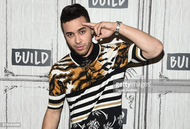 Prince Royce attends the Build Series to discuss National Concert Day at Build Studio on May 2 2017 in New York City