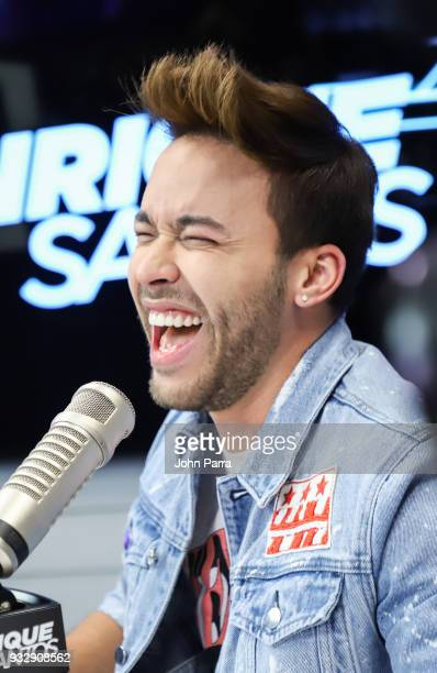 Prince Royce is seen at The Enrique Santos Show At I Heart Latino Studios on March 16 2018 in Miramar Florida
