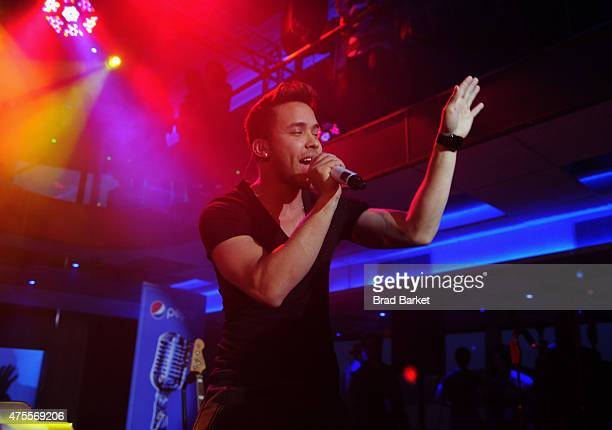 Prince Royce performs at the Pepsi and iHeartRadio Summer Kickoff Party on board the Hornblower Infinity on June 1 2015 in New York City
