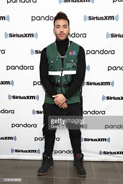 Prince Royce performs on SiriusXM's Caliente channel at the SiriusXM Studios on February 14 2020 in New York City