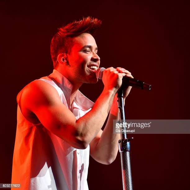 Prince Royce performs onstage at The Theater at Madison Square Garden on July 26 2017 in New York City