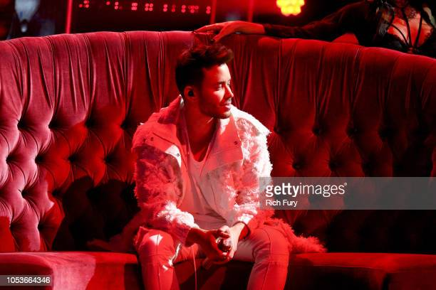 Prince Royce performs onstage during the 2018 Latin American Music Awards at Dolby Theatre on October 25 2018 in Hollywood California