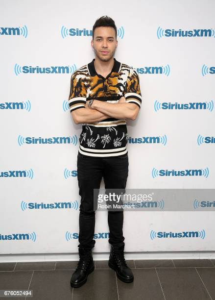 Prince Royce visits at SiriusXM Studios on May 2 2017 in New York City