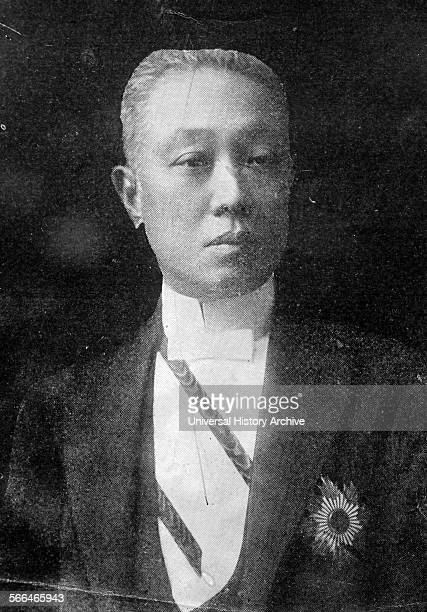 Prince Saionji Kinmochi . Japanese politician, statesman and twice Prime Minister of Japan; From January 7, 1906 to July 14 and again from August 30,...