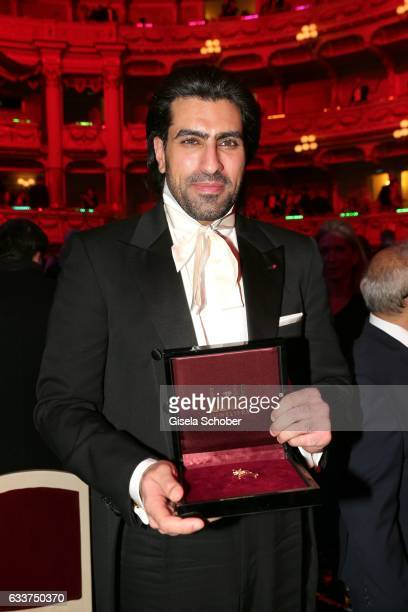 Prince Salman bin Abdulaziz bin Salman bin Muhammad al Saud during the Semper Opera Ball 2017 at Semperoper on February 3 2017 in Dresden Germany