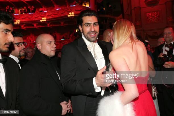 Prince Salman bin Abdulaziz bin Salman bin Muhammad al Saud during the Semper Opera Ball 2017 at Semperoper on February 3 2017 in Dresden Germany