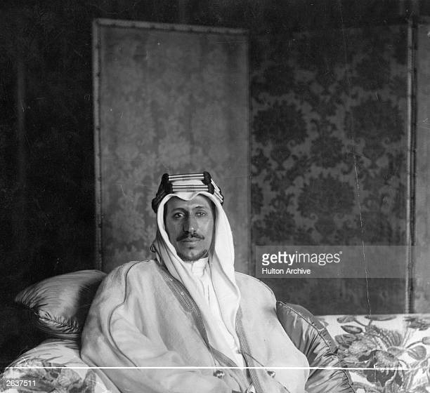 Prince Saud ibn Abdul Aziz heir to the throne of Saudi Arabia He was prime minister for three months before succeeding his father King Abdul Aziz Ibn...