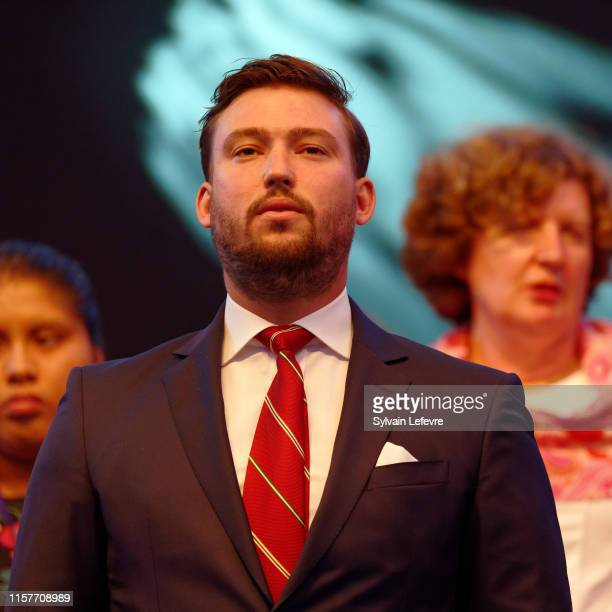 Prince Sebastien of Luxembourg celebrates National on June 22, 2019 in Luxembourg, Luxembourg.