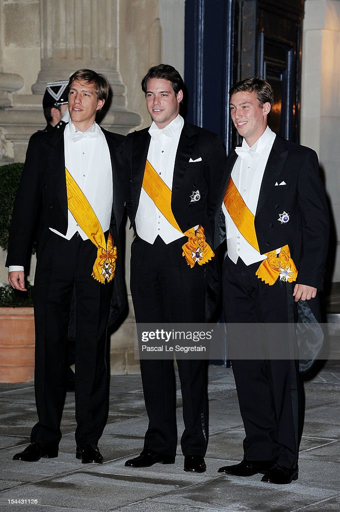 The Wedding Of Prince Guillaume Of Luxembourg & Stephanie de Lannoy - Gala Dinner