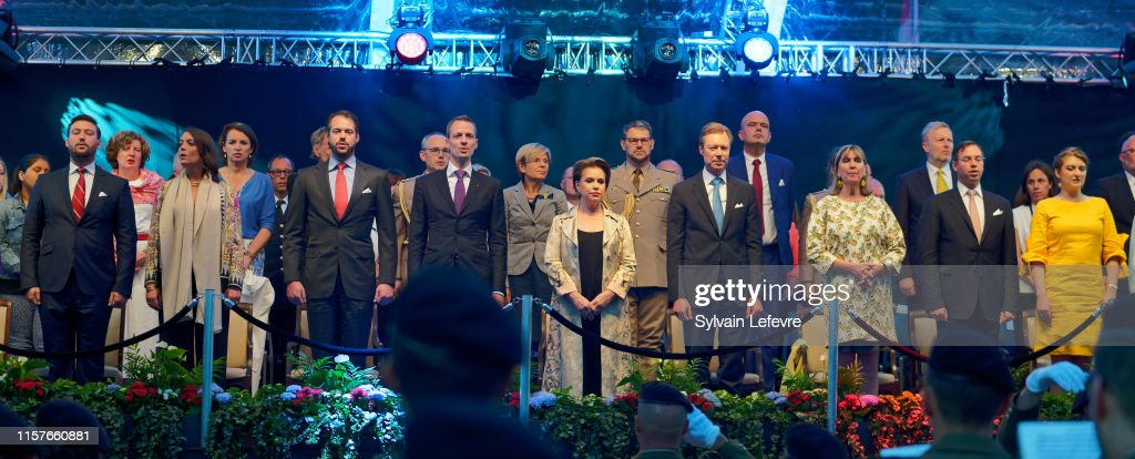 Luxembourg Celebrates National Day : Day One : News Photo