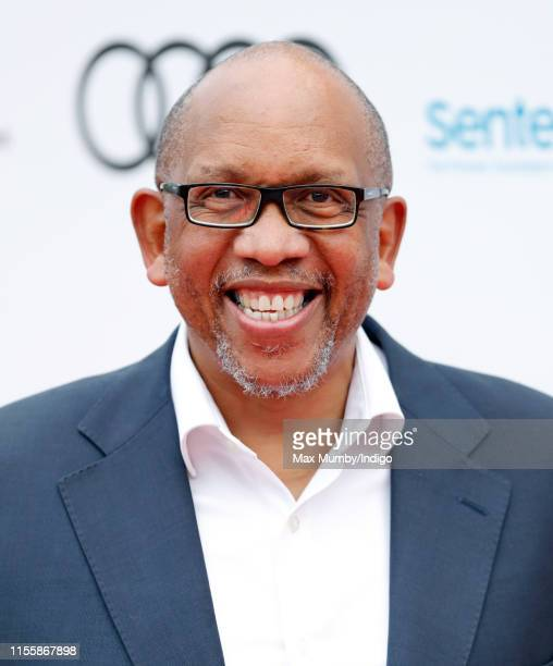 Prince Seeiso Bereng Seeiso of Lesotho attends the Sentebale Audi Concert at Hampton Court Palace on June 11 2019 in London England The charity...