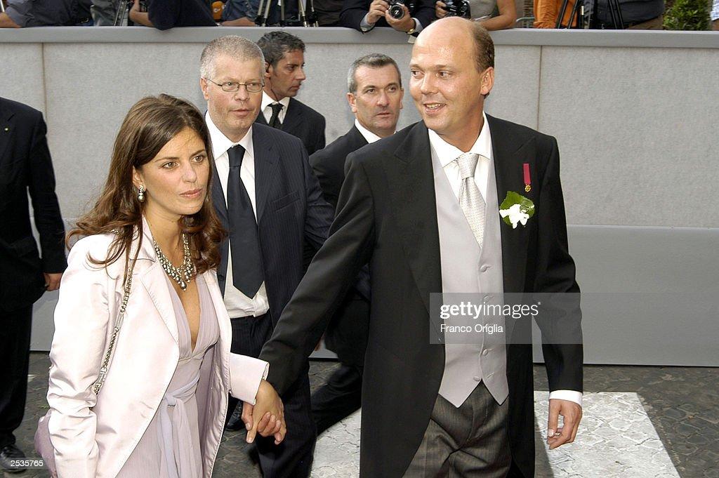 Prince Serge of Yugoslavia And Wife : News Photo