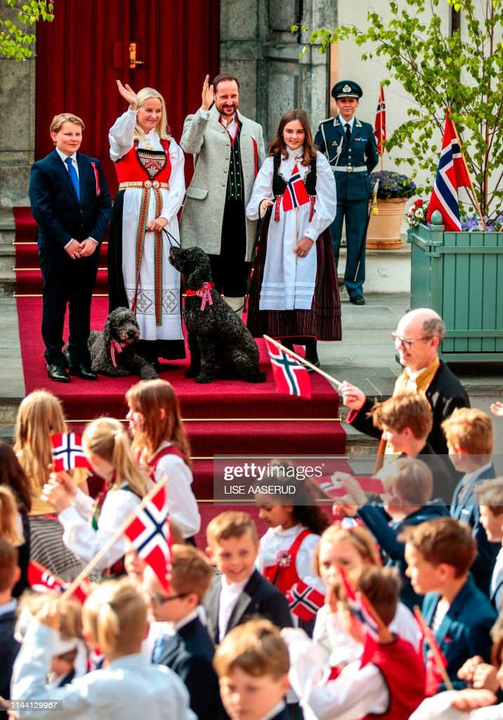 NORWAY-NATIONAL-DAY-ROYALS : News Photo