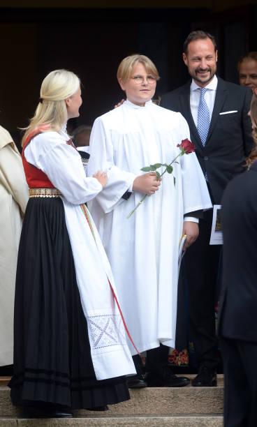 NOR: Prince Sverre Magnus Confirmation