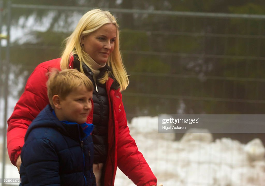 Norwegian Royals Attend Holmenkollen FIS World Cup Nordic