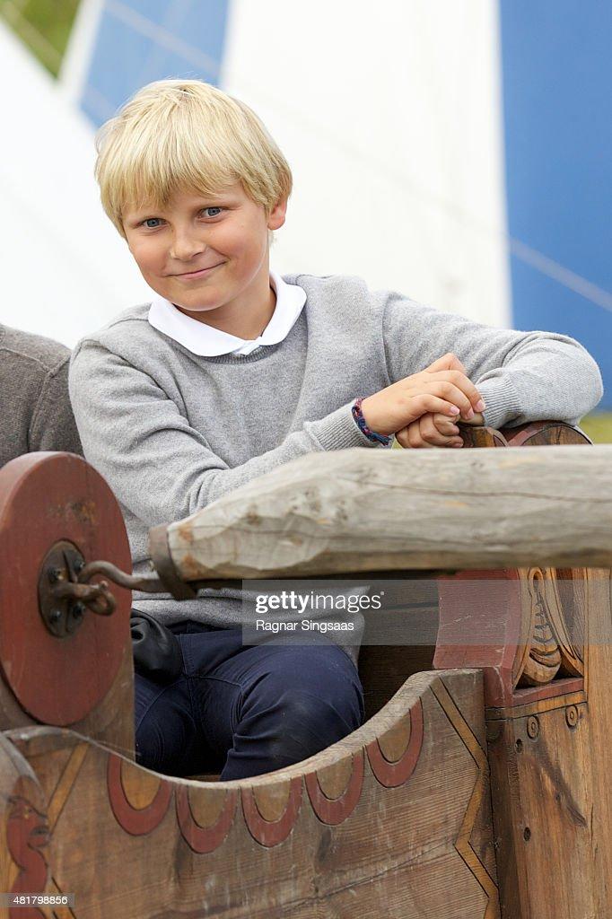 Norwegian Royals Attend The Saint Olav Festival 2015