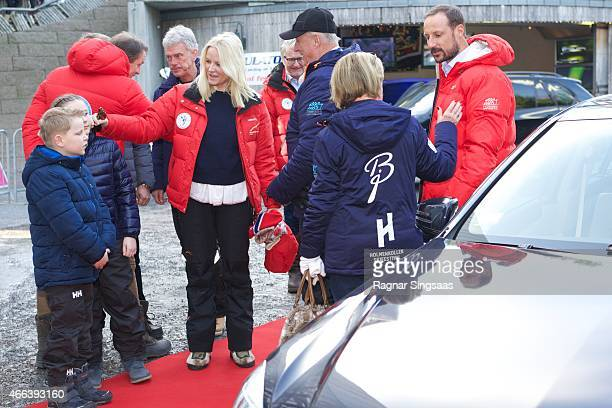 Prince Sverre Magnus of Norway Princess Ingrid Alexandra of Norway Crown Princess MetteMarit of Norway King Harald V of Norway Queen Sonja of Norway...