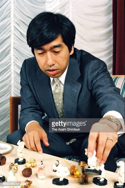 Prince Takamado speaks during the Asahi Shimbun interview at his residence on October 6 1993 in Tokyo Japan
