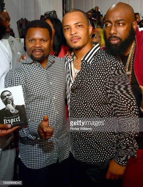 Prince TI and Trae tha ruth attend the Dime Trap Album release event at The Trap Museum on October 4 2018 in Atlanta Georgia