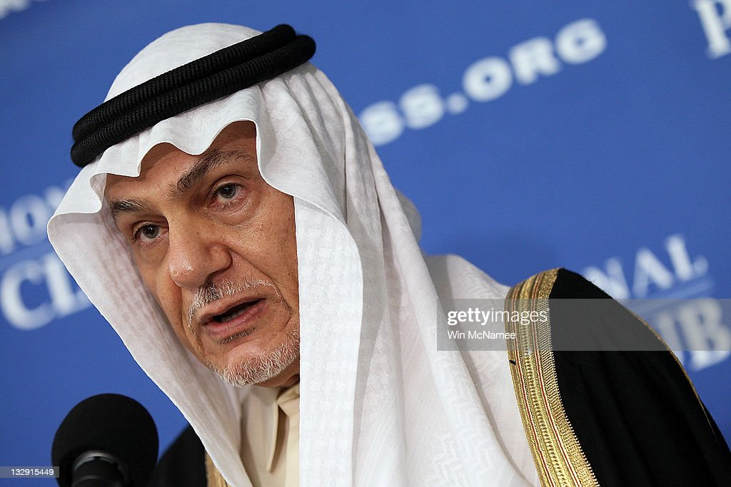 Prince Turki Al Faisal of Saudi Arabia Holds News Conference On Plot To Kill Saudi Ambassador