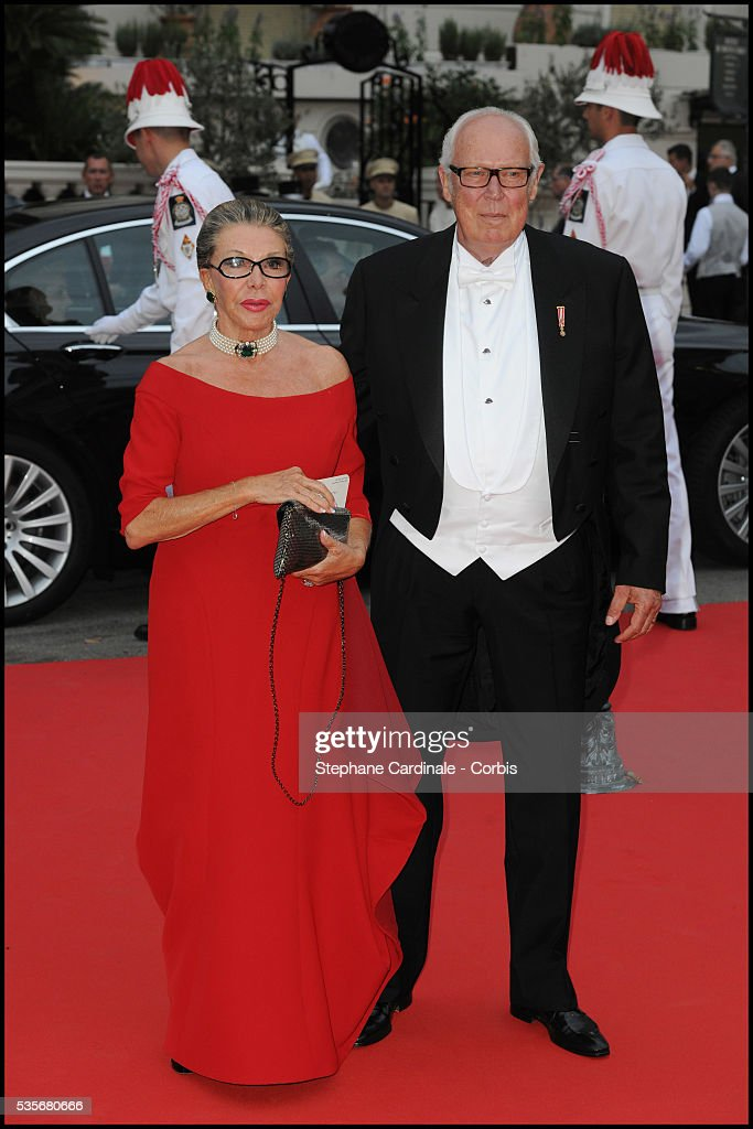 Prince Victor Emmanuel Of Savoy And Princess Marina Attend The Dinner At Opera Terraces