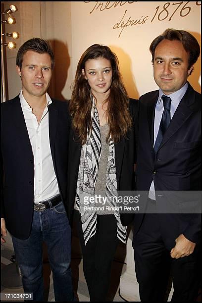 Prince Vincenslas of Liechtenstein and Diana Moldovan Vivien of Gunzburg at 'Bal De La Truffe' Organised By Lancel At Hotel Salomon De Rothschild In...