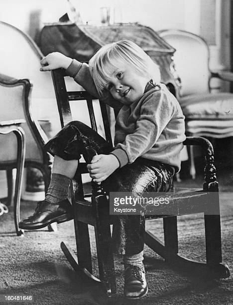 Prince WillemAlexander aged nearly 4 in a photo taken by his father Prince Claus 25th April 1971