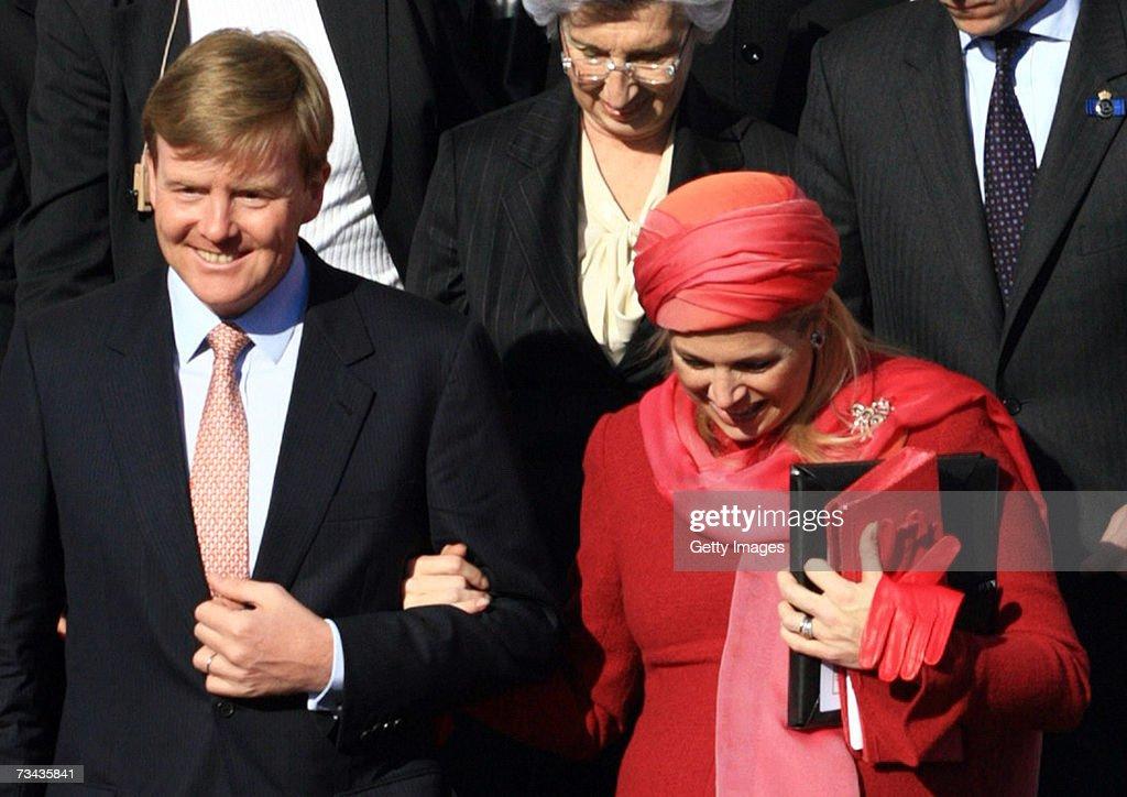 State Visit To Turkey of Dutch Royal Family - Ankara Day 1 : News Photo