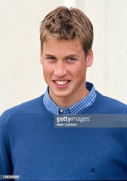 Prince William Accompanied By The Prince Of Wales Prince Harry Attends A Photocall At Highgrove To Celebrate His Learing To Drive