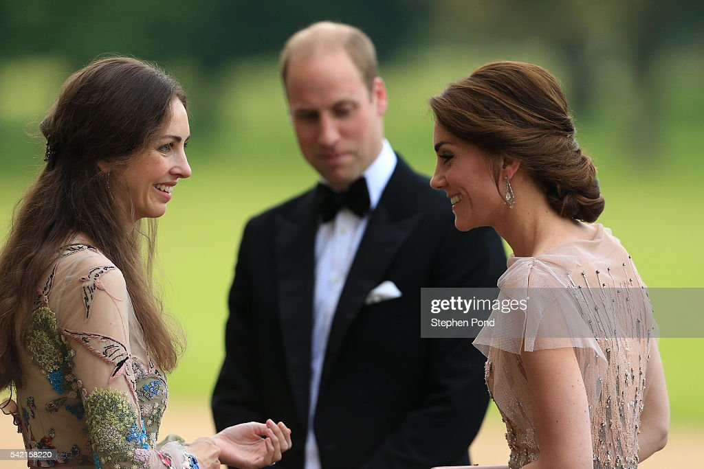 The Duke And Duchess Of Cambridge Attend Gala Dinner To Support East Anglia's Children's Hospices' Nook Appeal : Nachrichtenfoto