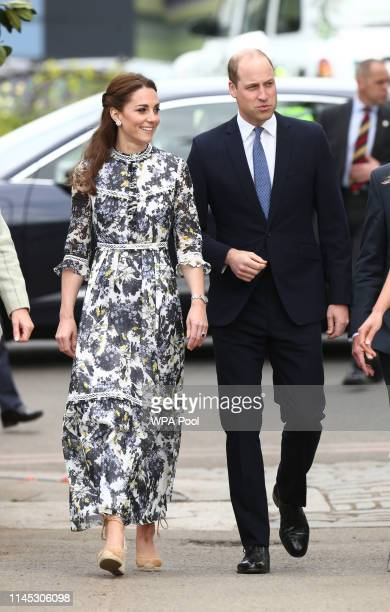 Prince William and Catherine Duchess of Cambridge at the RHS Chelsea Flower Show 2019 press day at Chelsea Flower Show on May 20 2019 in London...