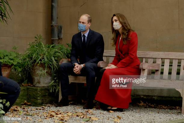 Prince William and Catherine Duchess of Cambridge meet medical staff as they visit St Bartholomew's Hospital in London to mark the launch of the...