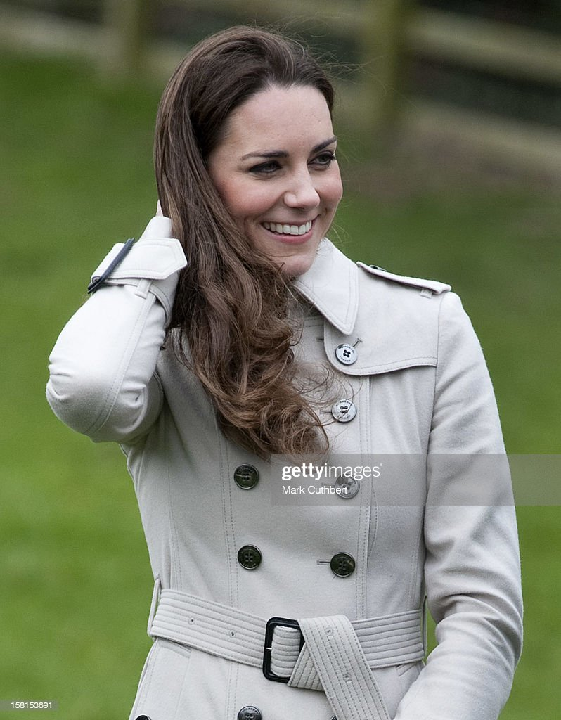 William And Kate Visit Northern Ireland : News Photo