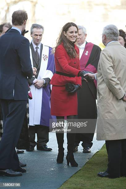 Prince William And Catherine Middleton Visit The University Of St Andrews In St Andrews Scotland As Patron Of The 600Th Anniversary Appeal