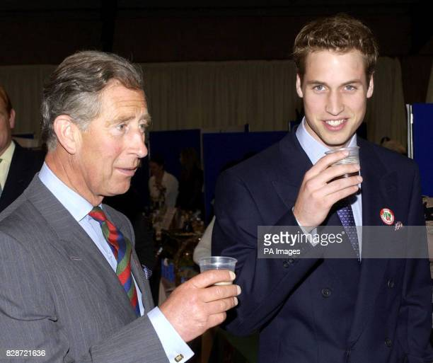 Prince William and his father the Prince of Wales sample a beer during a visit to the Anglesey Food Fair in north Wales The Prince 21 this coming...